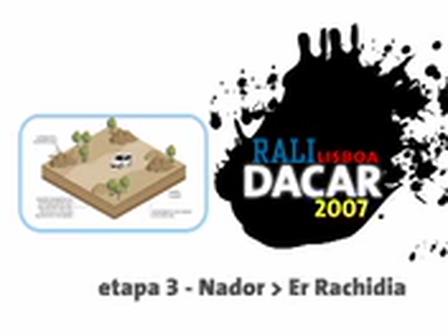 rali lisboa dacar 2007 etapa 3