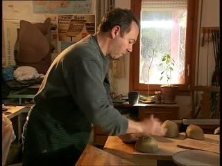Iberos en el Bajo Aragón. El proceso tradicional de producción cerámica. Alcorisa.