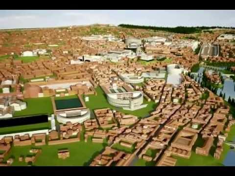Rome Reborn 2.1 - Recreación virtual en 3D