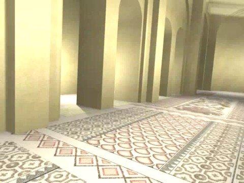 Ricostruzione virtuale soccorpo Cattedrale di Bitonto