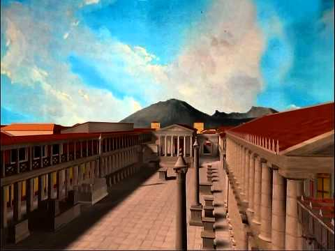 Virtual Tour of Roman Pompeii