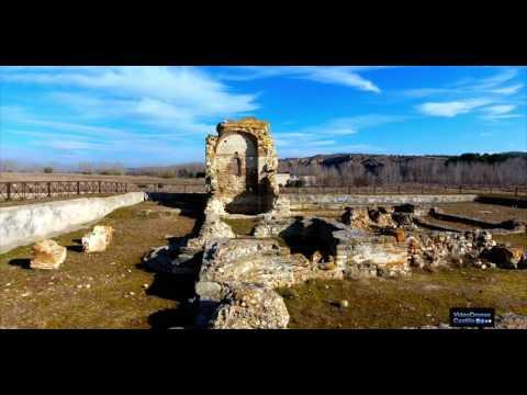 Drones, Yacimiento arqueológico Romano de Carranque . vídeo subtitulado