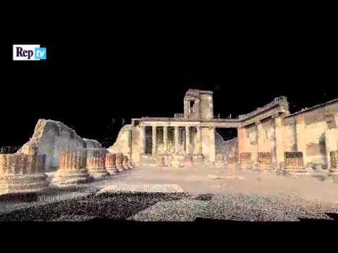 Pompeya, año 79 d.C. La ciudad como era antes de la erupción