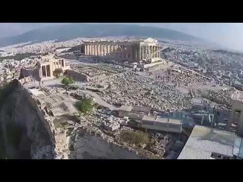 La Acrópolis de Atenas a vista de dron. ¡Como nunca antes la viste!