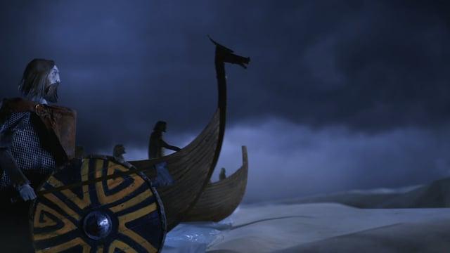 ¿Cómo se construía un barco vikingo?