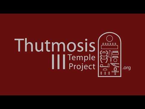 Digitalización 3D Templo Tutmosis III