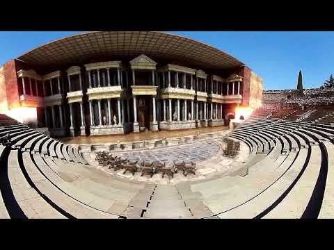 Guía virtual teatro romano de Mérida