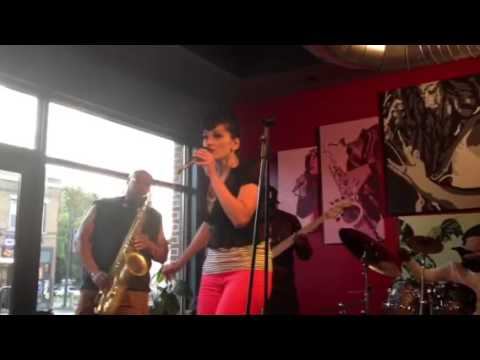 Jimmie HighSmith Jr & Fatima Razic @ Boulder Coffee 6/14/12