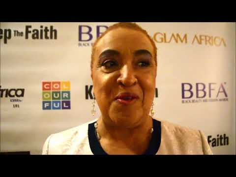 JESSICA MEADE INTERVIEW AT BLACK BEAUTY & FASHION AWARDS 2018