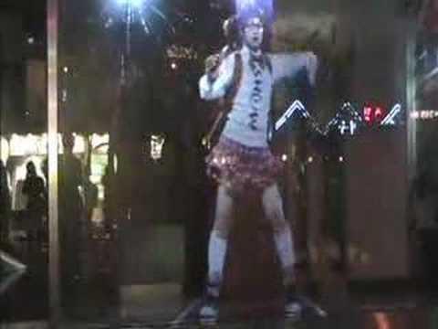 Dancing Hologram Girl
