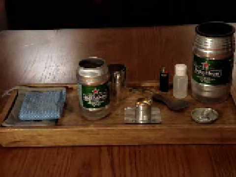 Ultralight Alcohol Cook Kit: Mini Keg