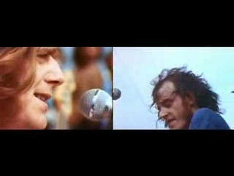 Joe Cocker With A Little Help From My Friends Woodstock