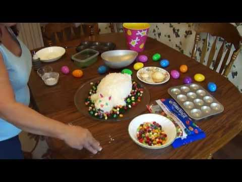 Easter Bunny Cake And An Extra Trick