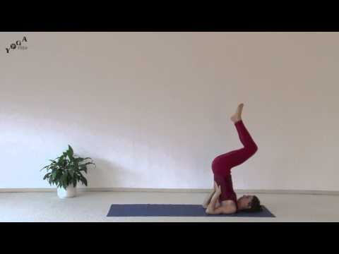 How To Do Shoulder Stand In Lotus