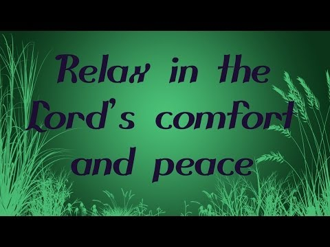 Guided Christian Meditation and Prayer with Bible Verses about Peace (with Relaxing Music)