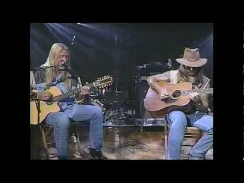 Allman Brothers Blues Band - Melissa - Acoustic - Live Music - Video