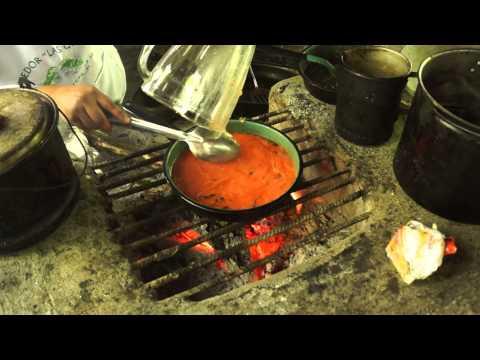 Erik Learns To Make Enchiladas At A Restaurant Hidden In The Rainforest!!