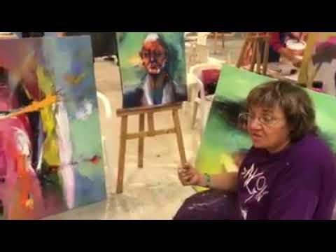 2.Alanya International Art Symposium Dutch Art Master Shefqet Avdush Emini 2018