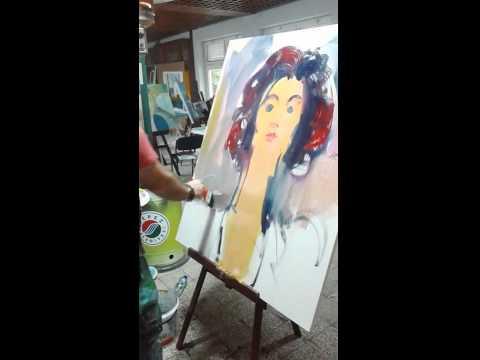 ARTIST: SHEFQET AVDUSH EMINI INTERNATIONAL SYMPOSIUM IN ANTALIA, TURKEY 2014