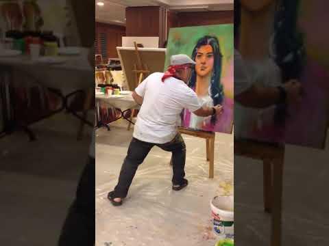1. International Art Symposium in Alanya 2018 - Artist: Shefqet Avdush Emini
