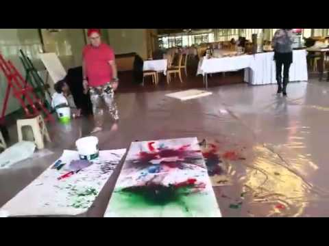 -I- Artist: Shefqet Avdush Emini - Art Symposium in Bolu,Turkey 2014