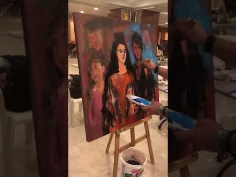 2.International Art Symposium in Alanya 2018  Dutch Art Master Shefqet Avdush Emini