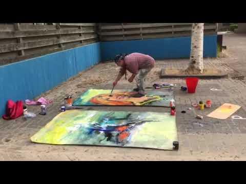 Shefqet Avdush Emini - Dutch Art Master  11-7-2018