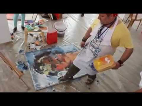 -I- ARTIST: SHEFQET AVDUSH EMINI INTERNATIONAL ART SYMPOSIUM IN AYDIN,TURKEY