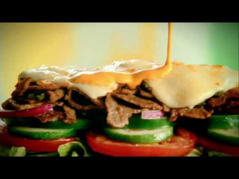 SUBWAY Steak and Cheese 30sec
