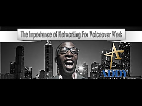 Networking For Voiceover - Atlanta Addy Awards