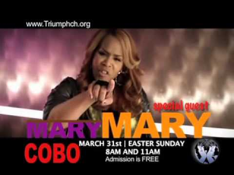 TRIUMPH CHURCH: RESURRECTION SUNDAY with MARY MARY at COBO (Downtown Detroit)