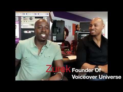 """One on One With Zurek """"Rick Party"""" Founder Of Voiceover Universe"""