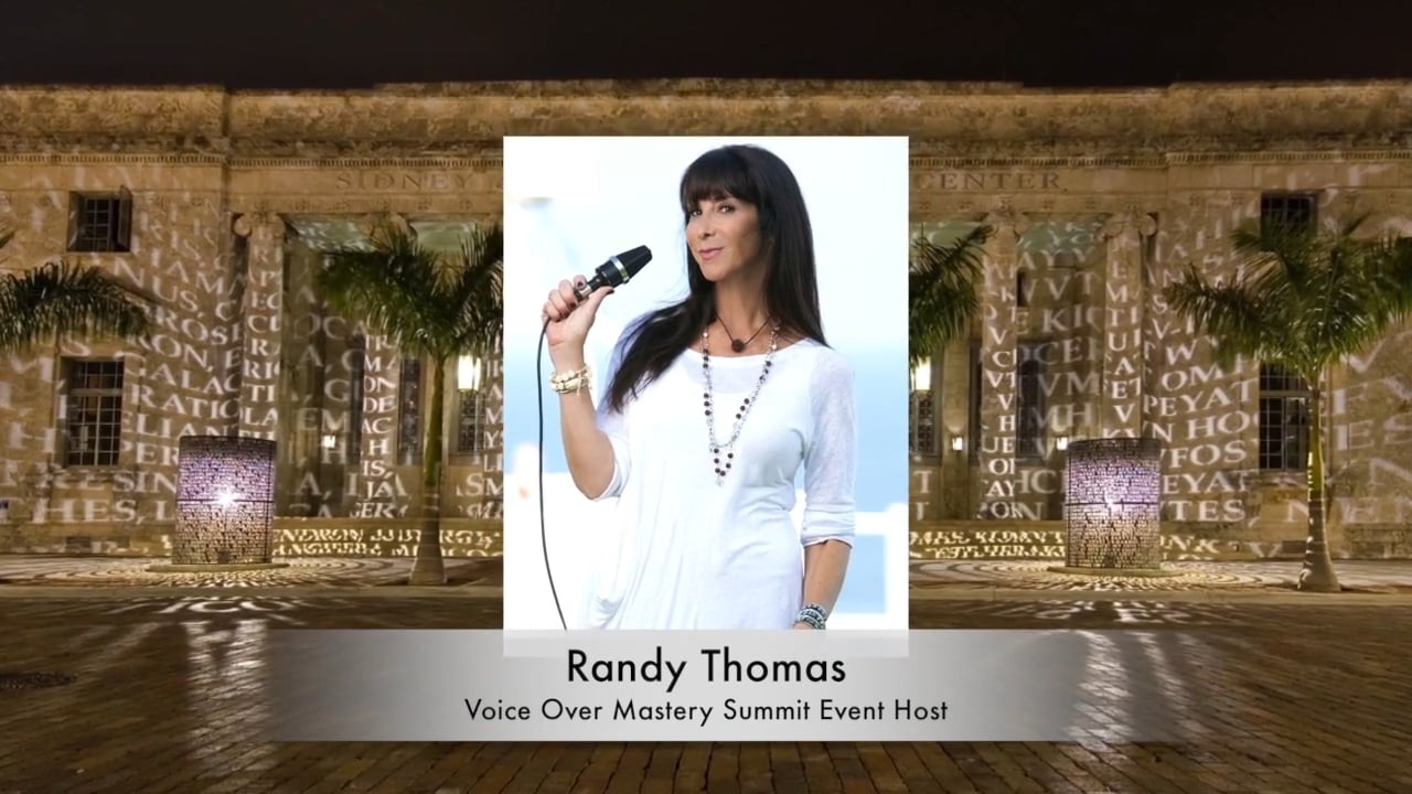 Randy Thomas Presents: 2nd Annual Voice Over Mastery Summit Event!
