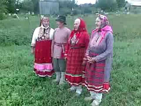 Бесермянский крезь. Напев-импровизация бесермян деревни Шамардан.