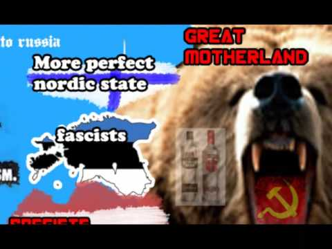 North-Eastern europe according to Estonians, Russians, Finns etc.