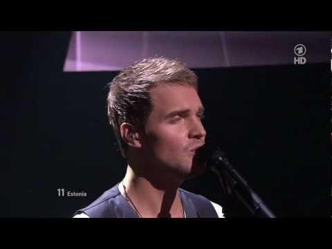 HD - Ott Lepland - Kuula ESC 2012 Final LIVE