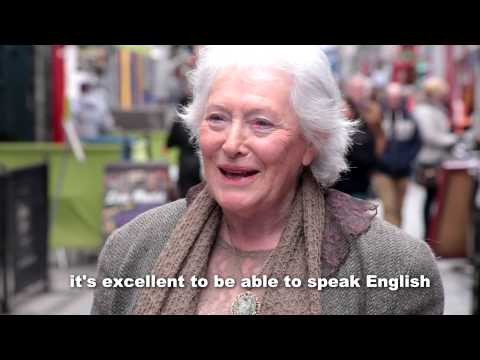 Is The Irish Language Important?  - Little Cinema Seachtain Na Gaeilge Vox Pop