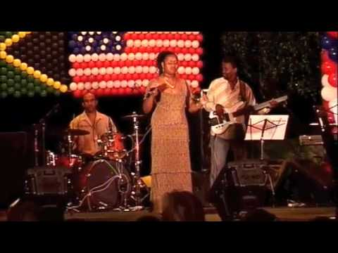 Jackie Jones sings Bittersweet in Jamaica