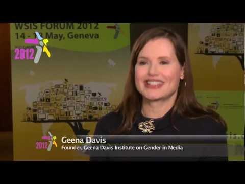 ITU INTERVIEWS: Geena Davis, ITU 'Special Envoy for Women and Girls in ICT'