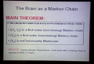 The 4 C's of Neuroinformation Theory - 51:02 - Jun 10, 2006
