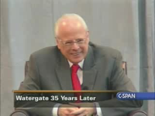 Watergate 35 Years Later *part.1 - 1:05:21  - May 28, 2008 cspan - www.cspanjunkie.org