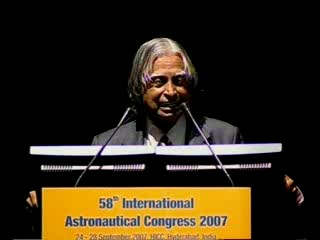 2007 IAC: Interactive Session with Dr Kalam - 1:00:16  - Oct 10, 2007