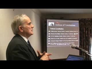 Bob Schulz on the US Constitution Part 3 of 9 - 30:27  - Apr 5, 2008
