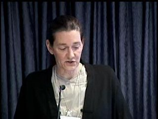 First Annual Colloquium on the Law of Transhuman Persons: Martine Rothblatt - 39:06  - May 24, 2006