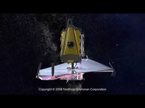 James Webb Space Telescope Deployment Animation Category:  Science & Technology