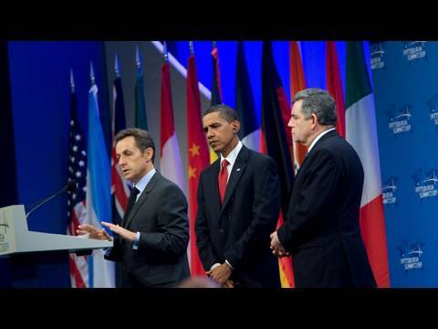 Obama, Sarkozy, and Brown on Iranian Nuclear Facility