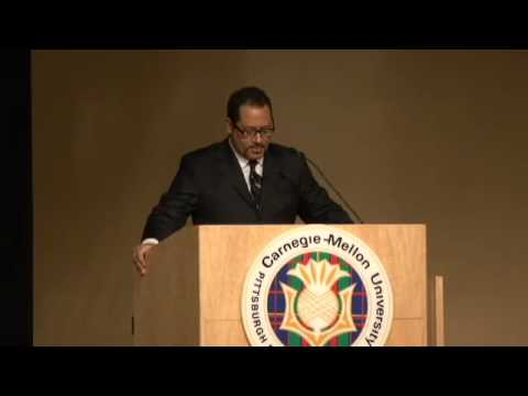 """Michael Eric Dyson gave the keynote speech, """"King, Obama and The American Dream"""