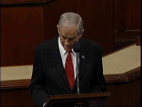 Video: Ron Paul defends TIs on government hit-list