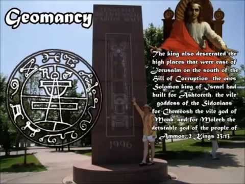 The Freemasons Used Ancient Seal of Solomon on Ancient American Burial Ground