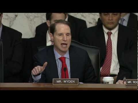 DNI Clapper tells Wyden the NSA does not collect data on millions of Americans